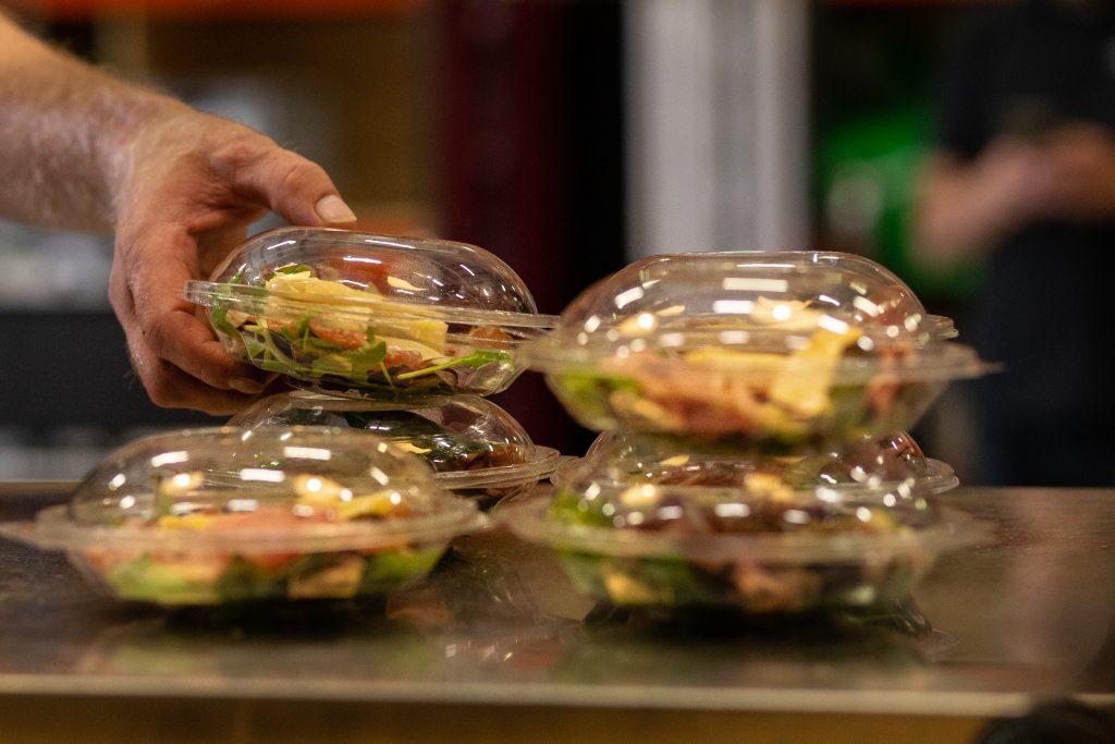 Grab en go corona proof buffet
